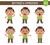 Boy poses and expressions (Vol. 5 / 8)