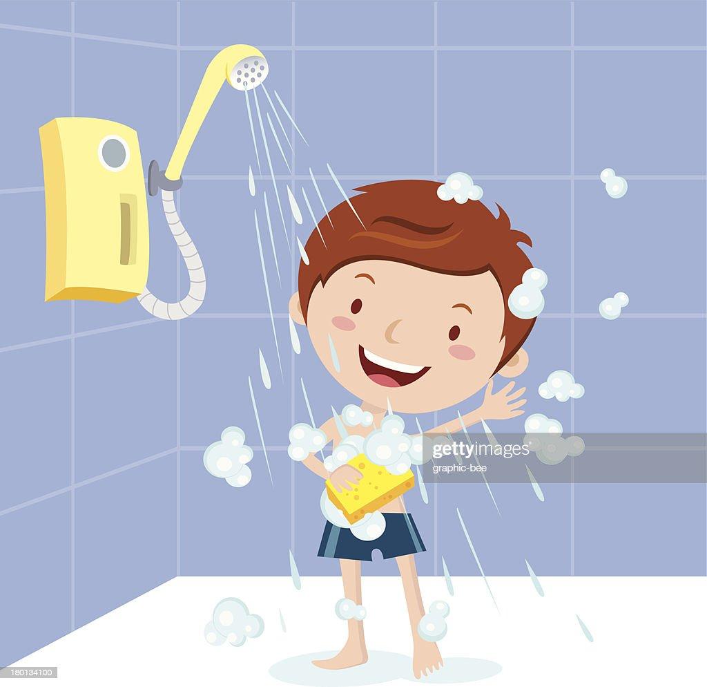 Boy shower