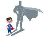 Boy Superhero Concept