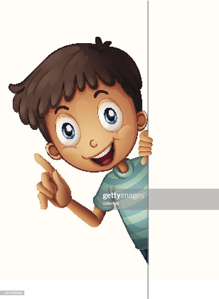 Boy : Vector Art
