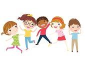 Boys and girls - Illustration