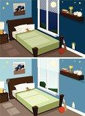 Boy's Room, Day & Night