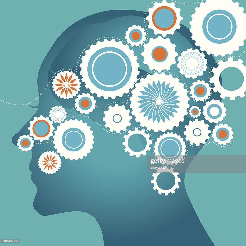 Brain and gears
