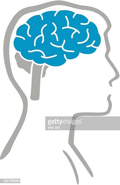 brain and human body - neurosurgery stock illustrations, clip art, cartoons, & icons
