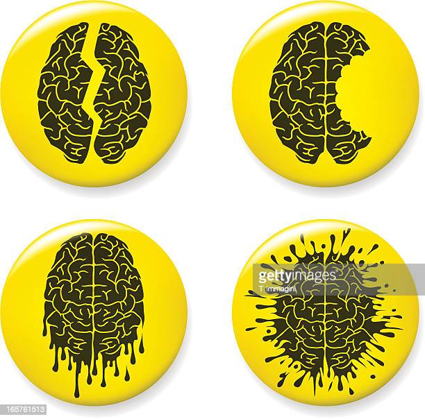 Brain damage pins
