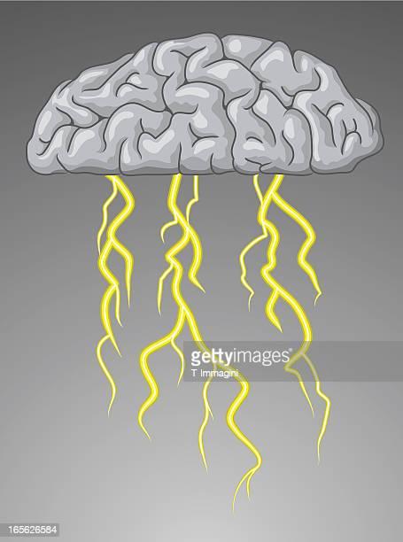 brain storm - monsoon stock illustrations, clip art, cartoons, & icons