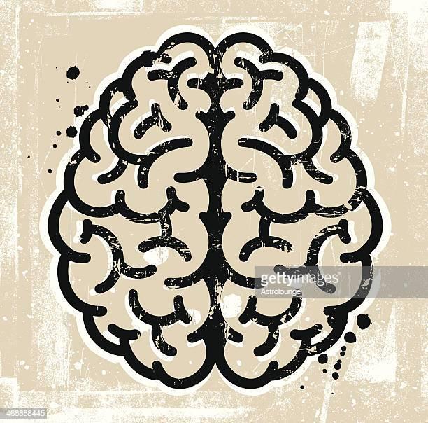 brain - frontal lobe stock illustrations, clip art, cartoons, & icons