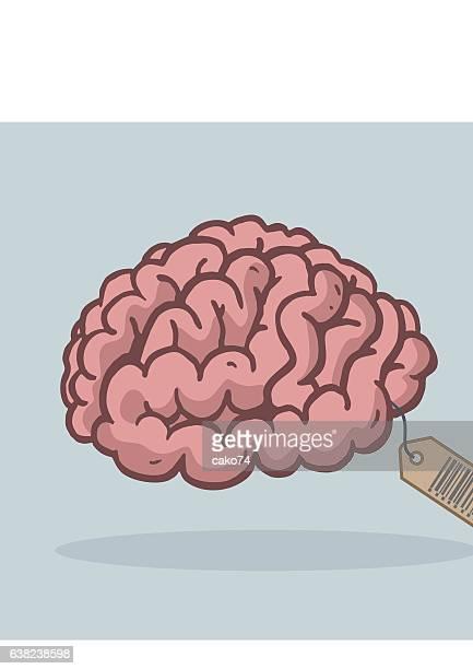 brain - gyrus stock illustrations, clip art, cartoons, & icons