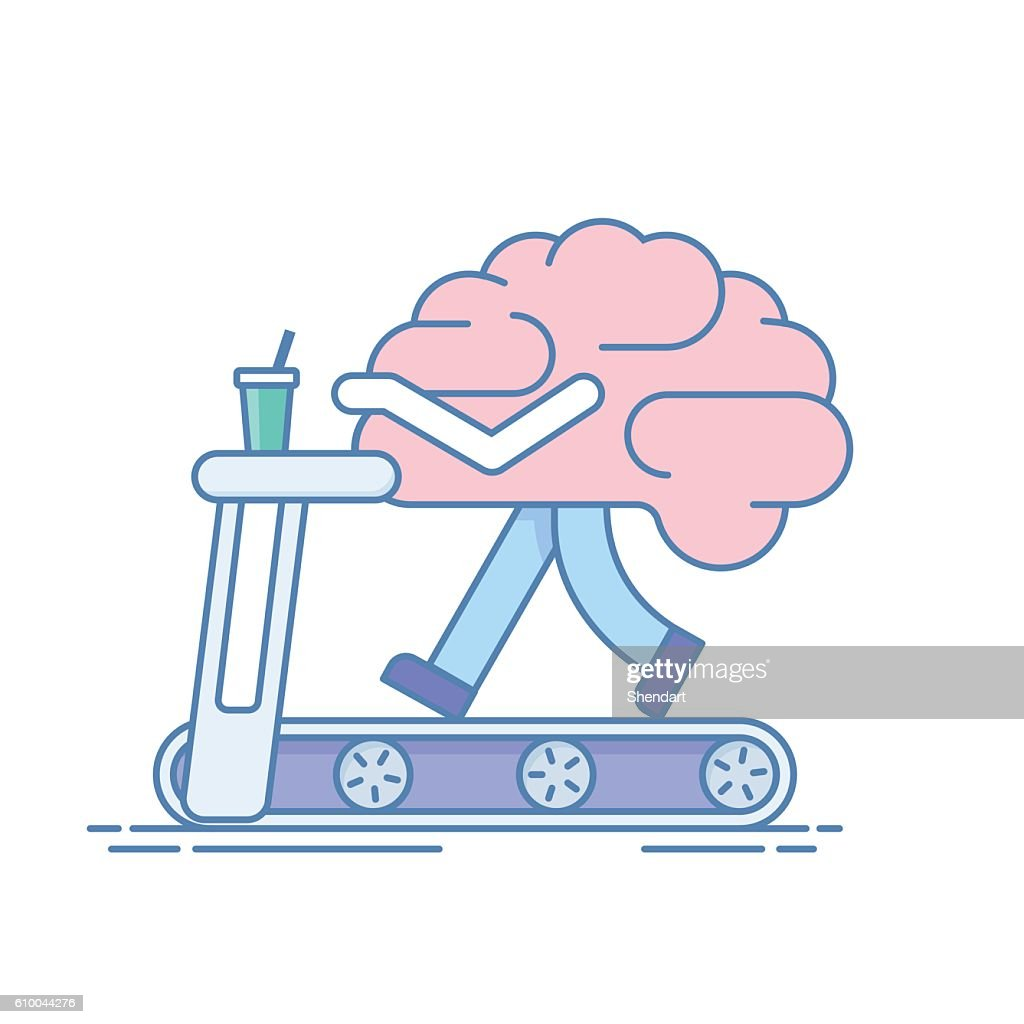 Brain Workout. The concept of  activity. Training or sports activities