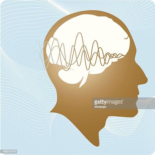 stockillustraties, clipart, cartoons en iconen met brain works - ziekte van alzheimer