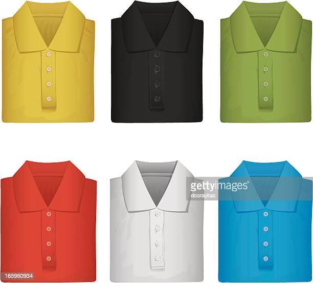 brand new colorful polo shirts