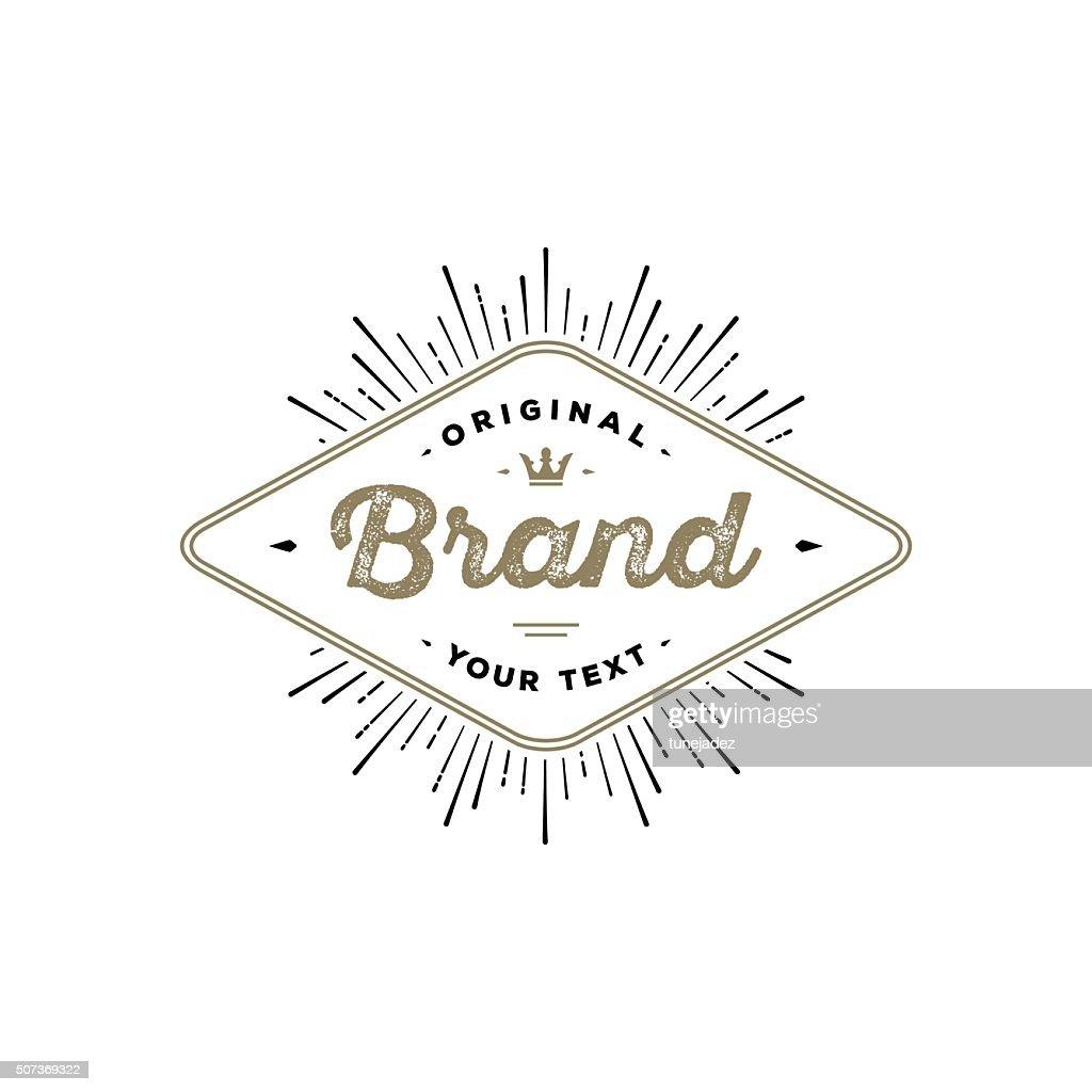 Brand Rhombus White