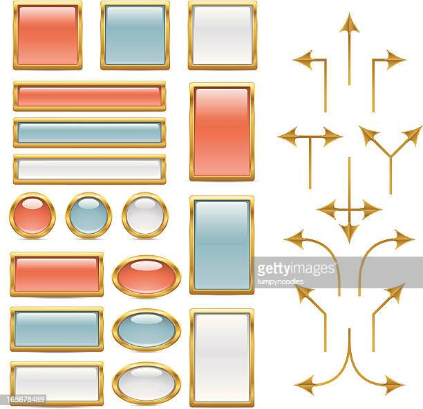Brass Flow Chart Elements