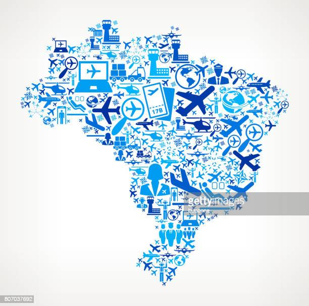Brazil Aviation and Air Planes Vector Graphic
