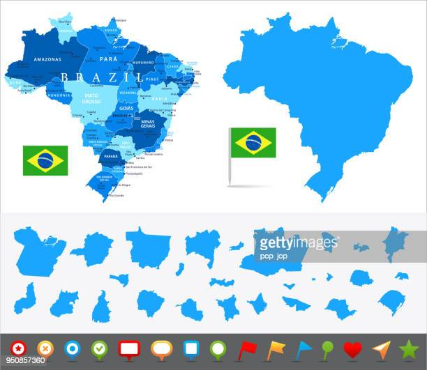 29 - brazil - blue and pieces 10 - valencia spain stock illustrations, clip art, cartoons, & icons
