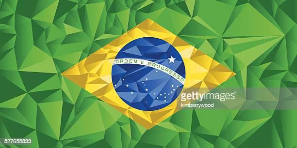 brazil flag - brazil stock illustrations