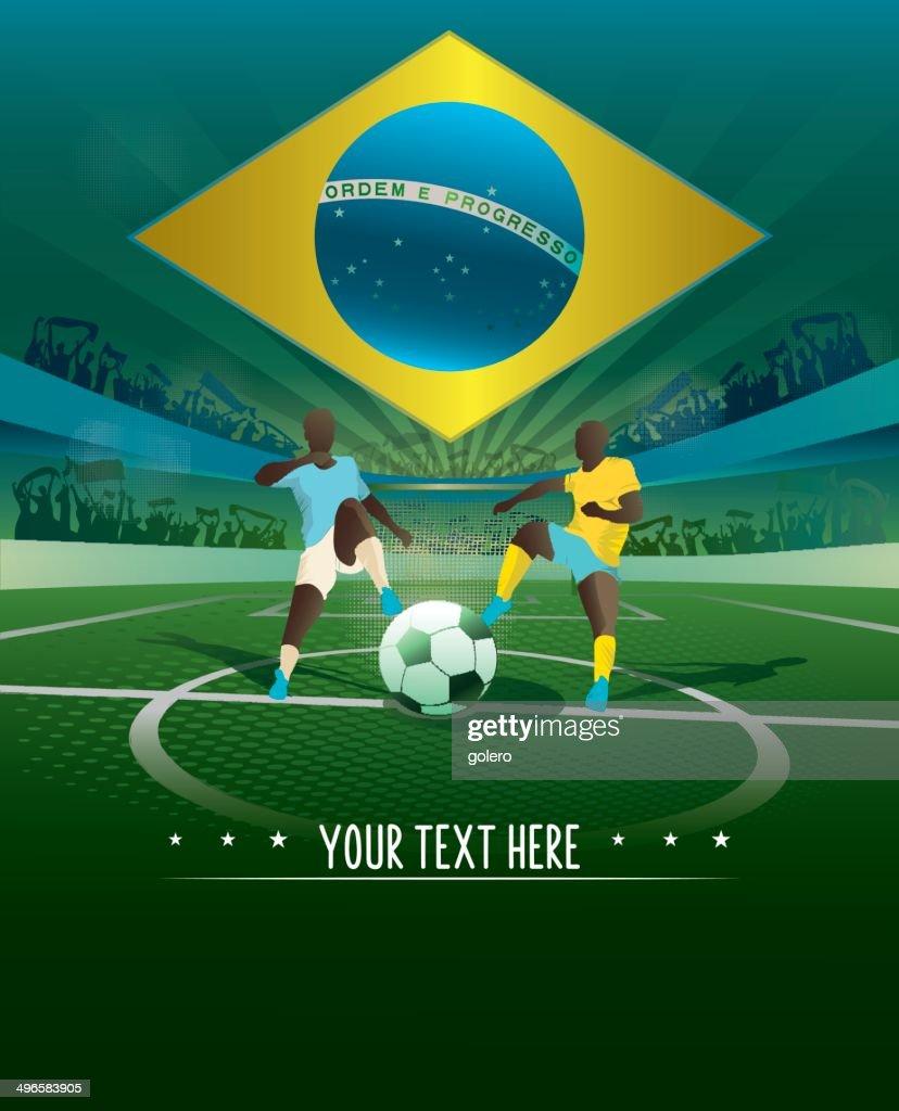 brazil match background