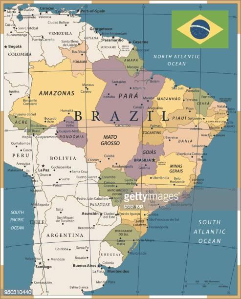 20 - Brazil - Vintage Color Dark