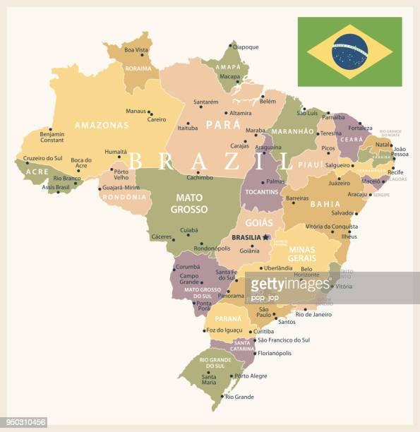 21 - Brazil - Vintage Isolated 10