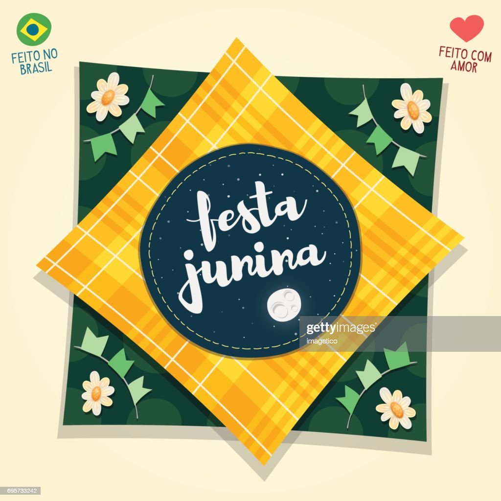 Brazilian June Party flag logo