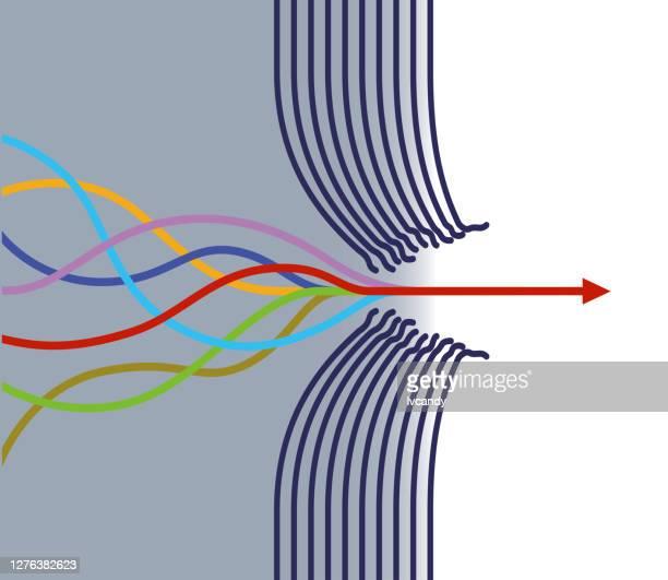 障害物を突破する - 出現点のイラスト素材/クリップアート素材/マンガ素材/アイコン素材
