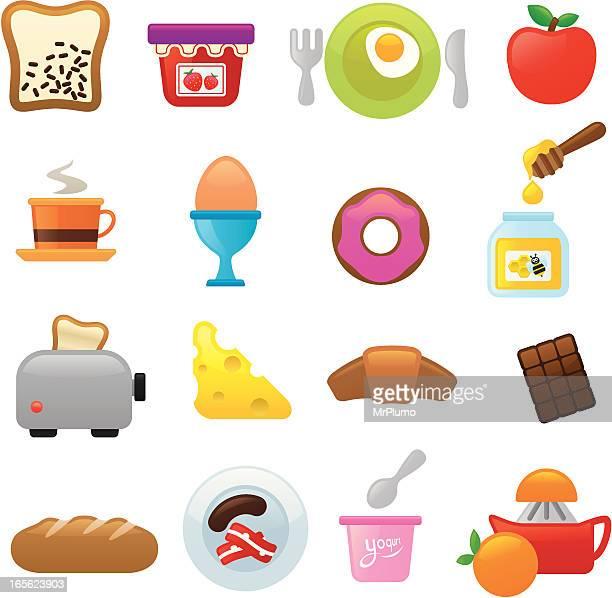 Breakfast icons | smoso series