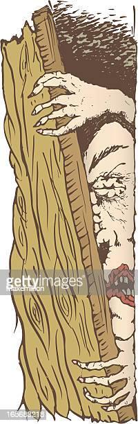 ilustraciones, imágenes clip art, dibujos animados e iconos de stock de sala de trabajo para grupos pequeños. - tirarse de los pelos