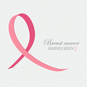 Breast cancer awareness background.