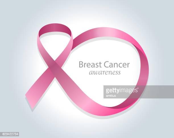 breast cancer awareness symbol - sensibilisierung für brustkrebs stock-grafiken, -clipart, -cartoons und -symbole