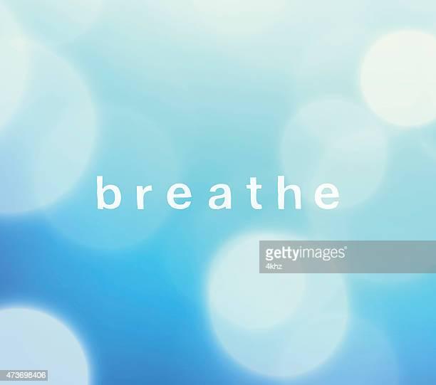 Respirez Defocus ciel bleu fond VECTEUR