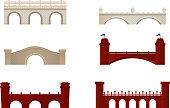 Brick Bridge Arch Architecture Building Monument Red and White