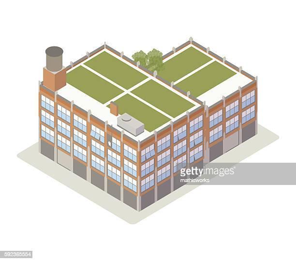brick loft illustration - mathisworks stock-grafiken, -clipart, -cartoons und -symbole