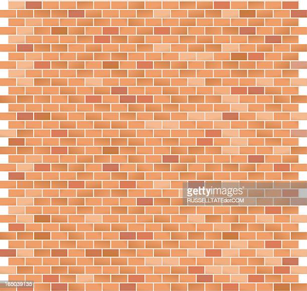 brick pattern large red - brick stock illustrations
