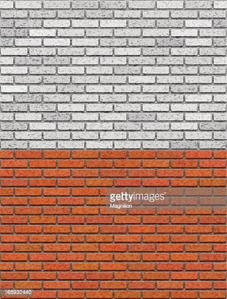 brick wall seamless pattern - surrounding wall stock illustrations