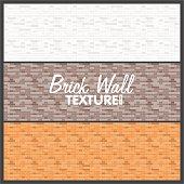 Brick Wall Texture Background.