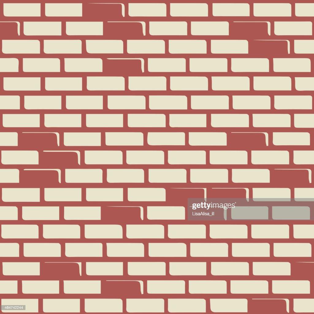 Brick wall - vector background