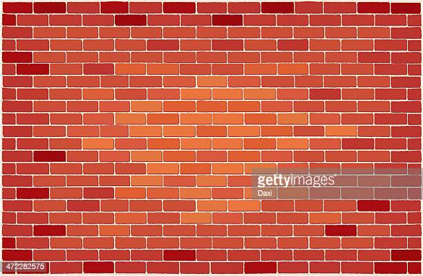 brick wall - brick stock illustrations
