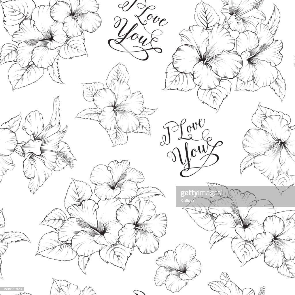 Bridal seamless pattern