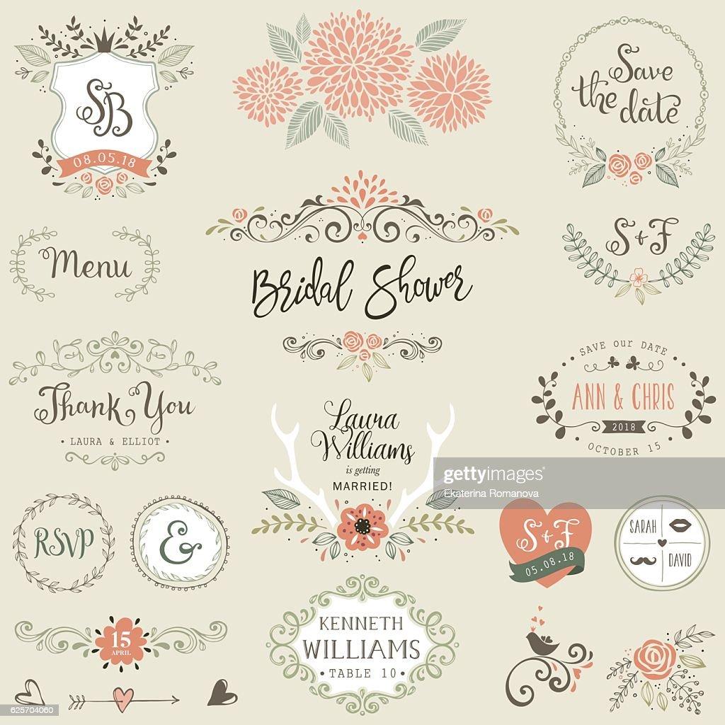 Bridal Shower Design Elements