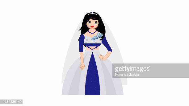 Bridal wear, bride girl marriage cloths
