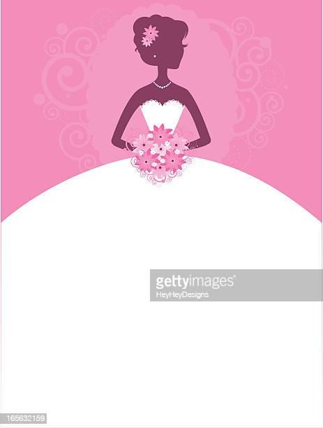 Braut Hübsch in Pink