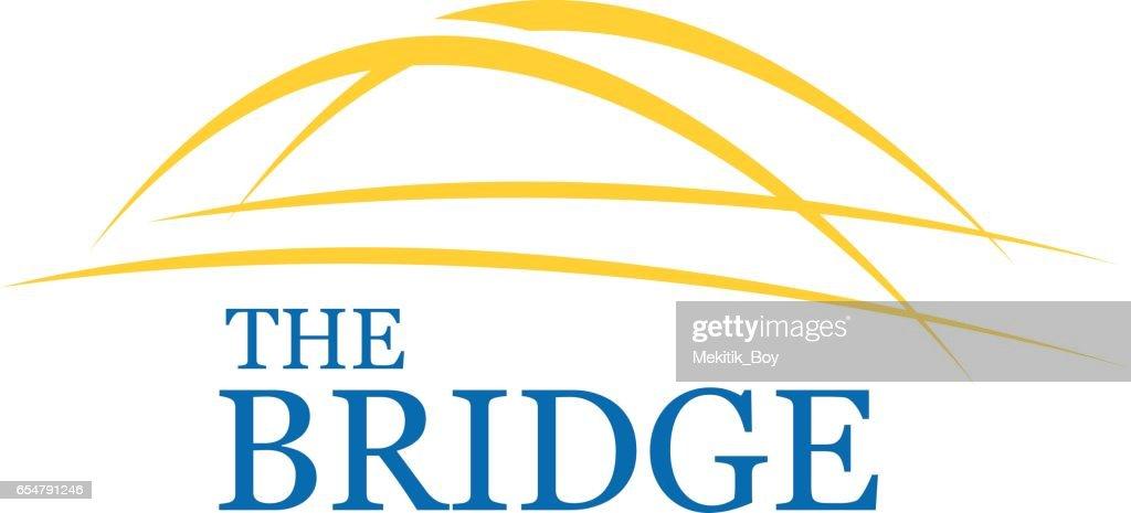 Bridge Symbol Design, Vector illustration