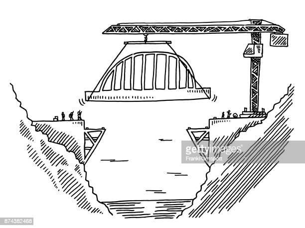 Bridge The Gap Construction Site Drawing
