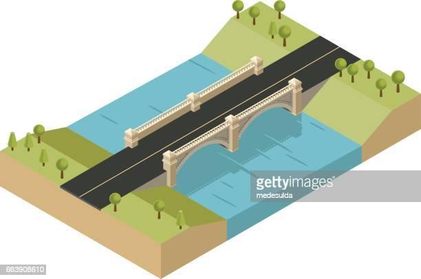 ブリッジ - 境界線点のイラスト素材/クリップアート素材/マンガ素材/アイコン素材