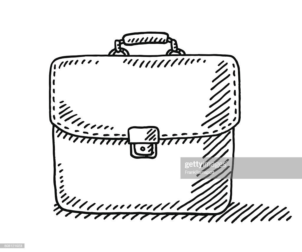 Briefcase Drawing