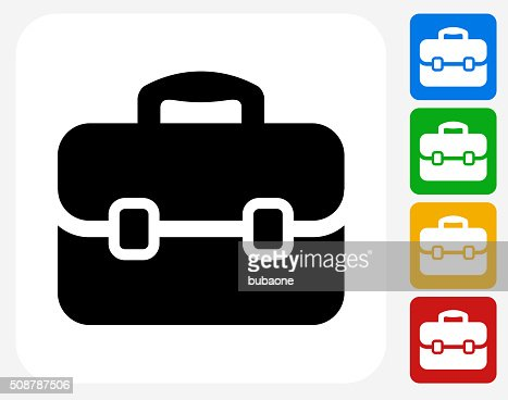 Briefcase Stock Illustrations and Cartoons #0: briefcase icon flat graphic design vector id s= a