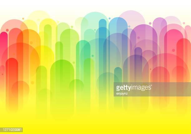 明るい抽象的な虹の背景 - ゲイ点のイラスト素材/クリップアート素材/マンガ素材/アイコン素材