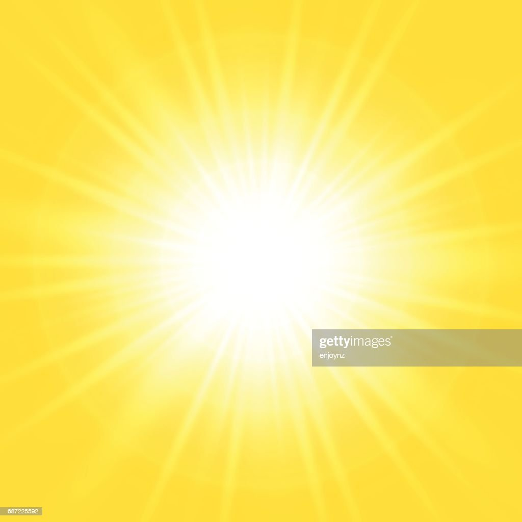 Bright abstract yellow background