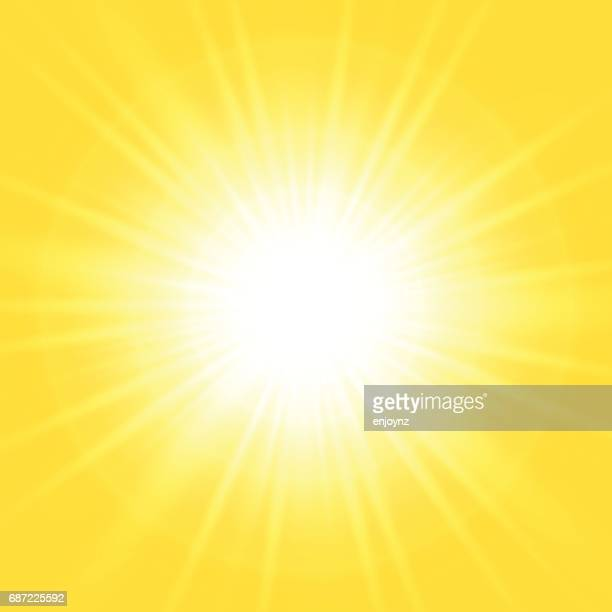 bright abstract yellow background - yellow stock illustrations