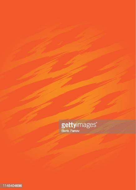 明るく大胆なオレンジグランジテクスチャの背景テンプレート - 掻く点のイラスト素材/クリップアート素材/マンガ素材/アイコン素材